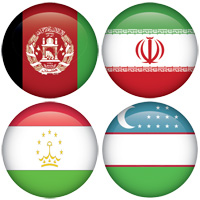 Persian (Farsi) language flags