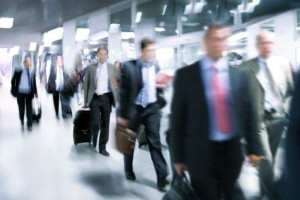 Business travel on the rise - but what about language learning? - Image credit: Thinkstock/Hemera