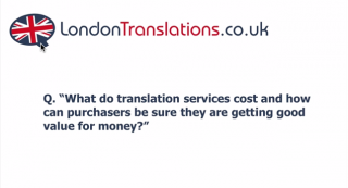 Translation Services Cost In London?