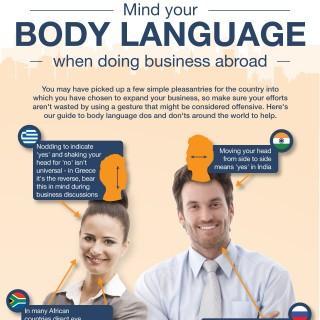 international body language head shots